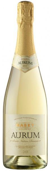 "Игристое вино Maset del Lleo, ""Aurum"" Reserva Brut Nature, Cava DO"
