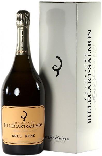 Шампанское Billecart-Salmon, Brut Rose, gift box, 1.5 л