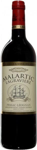 "Вино ""Chateau Malartic Lagraviere"" Red, Pessac Leognan Grand Cru Classe de Graves, 2004"