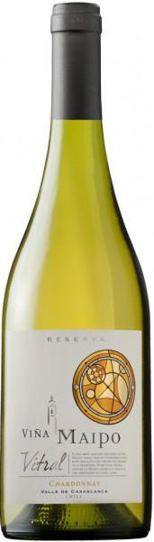 "Вино Vina Maipo, ""Vitral"" Chardonnay Reserva, 2013"