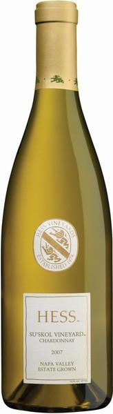 Вино Hess, Su'skol Vineyard Chardonnay, 2007
