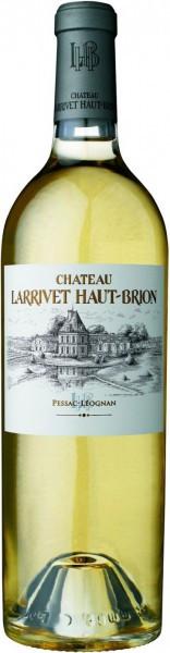 Вино Chateau Larrivet Haut-Brion, Pessac-Leognan AOC Blanc, 2010