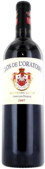 Вино Clos de L'Oratoire, 2007