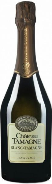 "Игристое вино ""Chateau Tamagne"", Blanc de Tamagne, Demi-Sec"