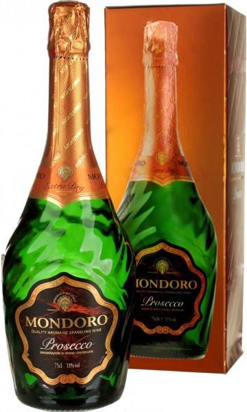 """Игристое вино """"Mondoro"""" Prosecco DOC, gift box"""