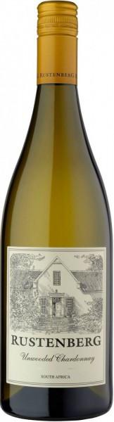 """Вино Rustenberg, """"Unwooded Chardonnay"""", 2014"""