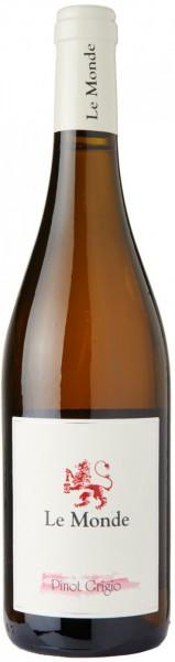 Вино Le Monde, Pinot Grigio, Friuli-Venezia Giulia, 2014