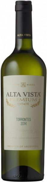 """Вино Alta Vista, """"Premium"""" Torrontes, 2014"""