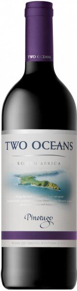"""Вино """"Two Oceans"""" Pinotage, 2016"""