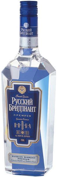"""Водка """"Russkiy Brilliant"""" Premium, 0.5 л"""