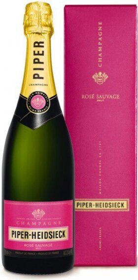 Шампанское Piper-Heidsieck, Rose Sauvage, with box