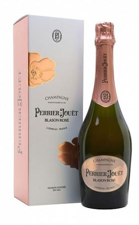 Шампанское Perrier Jouet Blason Rose gift box 0.75л