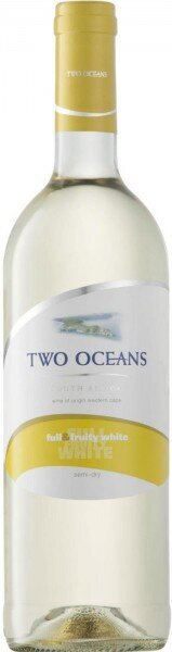 """Вино """"Two Oceans"""" Full and Fruity White, 2015"""