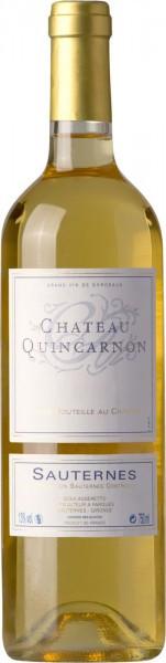 Вино Chateau Quincarnon, Sauternes AOC, 2010