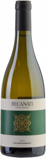 "Вино Recanati, ""Upper Galilee"" Chardonnay (kosher), 2012"