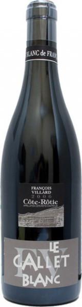 "Вино Francois Villard, Cote-Rotie ""Le Gallet Blanc"" AOC, 2006"
