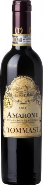 Вино Tommasi, Amarone della Valpolicella Classico DOC, 2011, 0.375 л