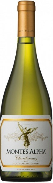 "Вино ""Montes Alpha"" Chardonnay, 2013"