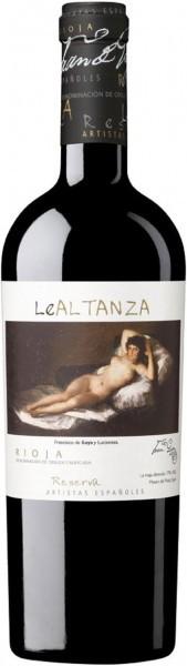 """Вино """"Le Altanza Artistas Espanoles"""" Goya Reserva"""