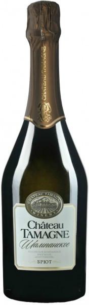 """Игристое вино """"Chateau Tamagne"""", Rossiyskoe Champagne, Brut"""