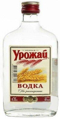 "Водка ""Urozhay"" Osobaya, 0.25 л"