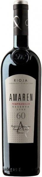 "Вино ""Amaren"" Reserva, Rioja DOC, 2006"