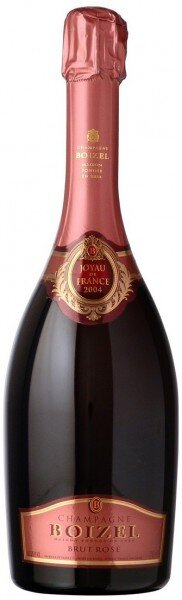 "Шампанское Boizel, ""Joyau de France"" Brut Rose, 2004, in gift box"