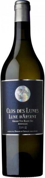 Вино Clos des Lunes, Lune d'Argent, Bordeaux AOC, 2013