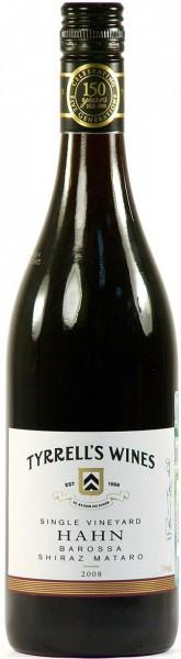 Вино Tyrrell's Wines Shiraz Mataro Hahn Barossa 2008