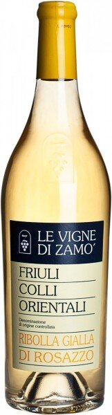 Вино Le Vigne di Zamo, Ribolla Gialla, Colli Orientali del Friuli DOC, 2010