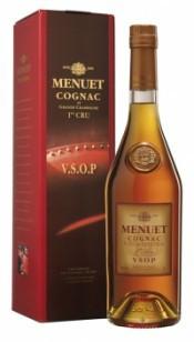 Коньяк Menuet V.S.O.P., gift box, 0.7 л