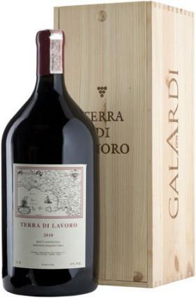 Вино Galardi, Terra di Lavoro, Roccamonfina IGT 2010, wooden box, 3 л