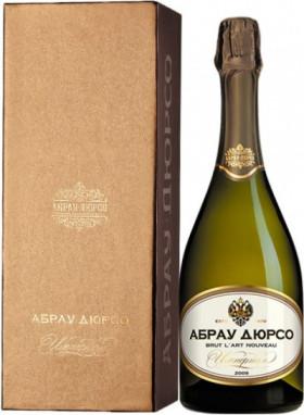 """Игристое вино Abrau-Durso, """"Imperial"""" Brut L'Art Nouveau, gift box"""
