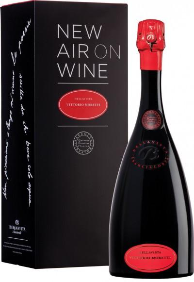 """Игристое вино Bellavista, """"Vittorio Moretti"""", Franciacorta DOCG, 2008, gift box"""