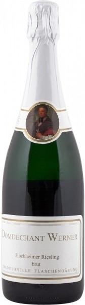 Игристое вино Domdechant Werner, Hochheimer Riesling Sekt Brut, 2007