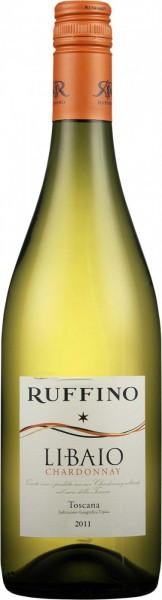 """Вино Ruffino, """"Libaio"""" Chardonnay, Toscana IGT"""