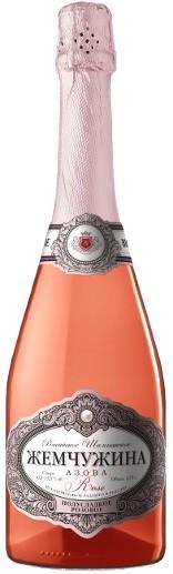 "Игристое вино ""Pearl of Azov"" Rose Semi-sweet"