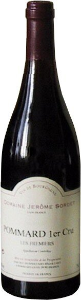 "Вино Domaine Jerome Sordet, Pommard 1-er Cru AOC ""Les Fremiers"", 2005"