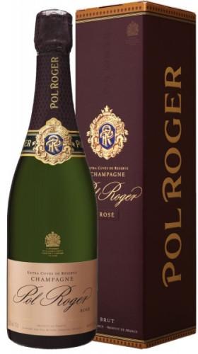 Шампанское Pol Roger, Brut Rose, 2002, gift box
