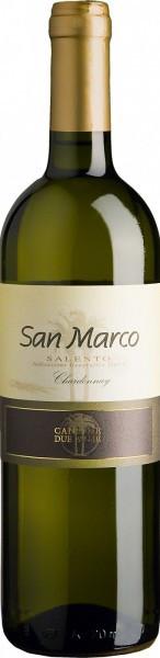 "Вино Cantine Due Palme, ""San Marco"" Bianco, Salento IGT, 2013"