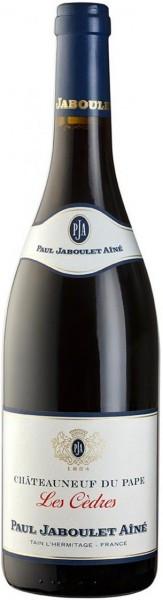 """Вино Paul Jaboulet Aine, """"Les Cedres"""" Rouge, Chateauneuf du Pape AOC, 2008"""