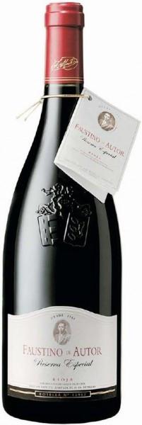 Вино Faustino de Autor, 2001