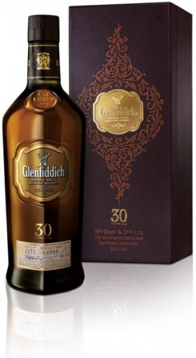 Виски Glenfiddich 30 Years Old, gift box, 0.75 л