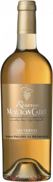 "Вино ""Reserve Mouton Cadet"", Sauternes AOC, 2012"