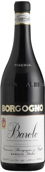 Вино Borgogno, Barolo Riserva DOCG, 2001