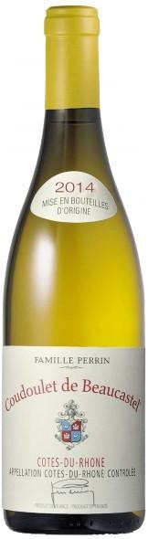 """Вино Perrin et Fils, """"Coudoulet de Beaucastel"""", Cotes du Rhone AOC, 2014"""