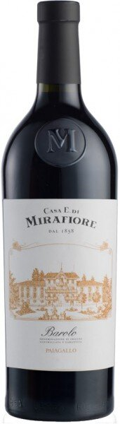 """Вино Mirafiore, """"Paiagallo"""", Barolo DOCG, 2010"""