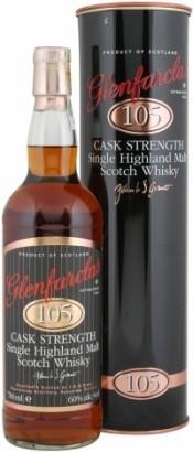 """Виски Glenfarclas """"105"""", In Tube, 0.7 л"""