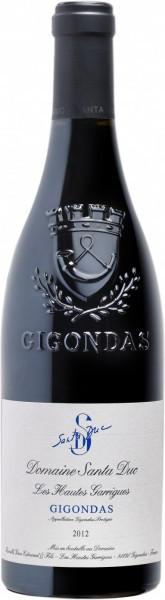 """Вино Domaine Santa Duc, """"Les Hautes Garrigues"""", Gigondas AOP, 2012"""