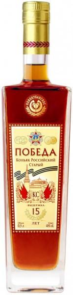 "Коньяк ""Pobeda"" KS, 0.5 л"